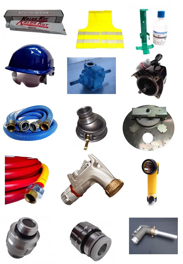 Parts product samples